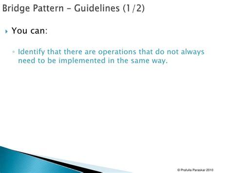 bridge pattern in net design patterns 02 proxy and bridge pattern