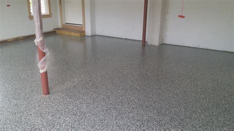 Epoxy Garage Floor Painting Residential Polished Concrete
