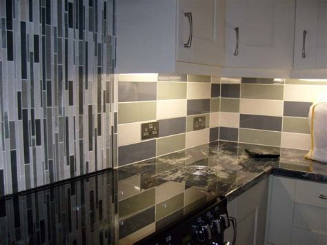 b q kitchen tiles ideas linear gloss wall tile kitchen tiles from tile