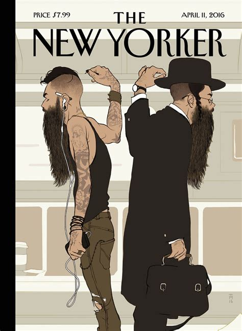 The L From The Story by Cover Story Tomer Hanuka S Take The L Train The New Yorker