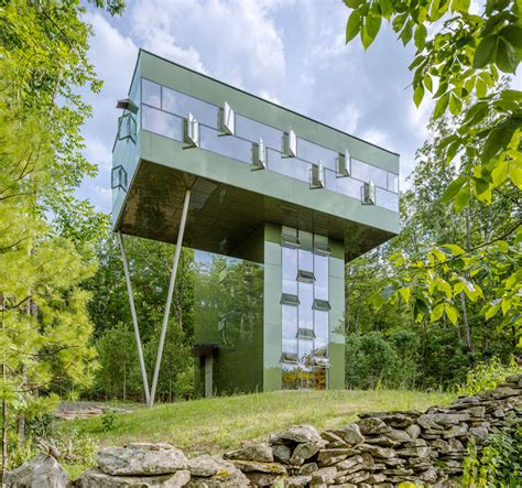 designboom observatories gluck s tower house designed like an observatory