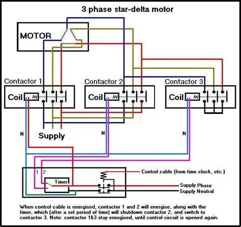 motor delta connection data diagram
