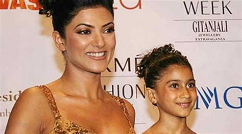 sushmita sen renee sen sushmita sen s daughter renee wants to be an actress but