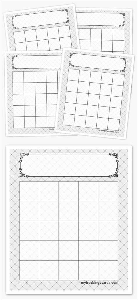 Bingo Card Template 5x5 by Best 20 Bingo Template Ideas On Bingo