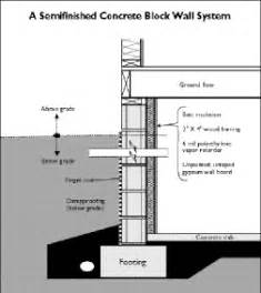 basement wall thickness home energy magazine single family choosing a