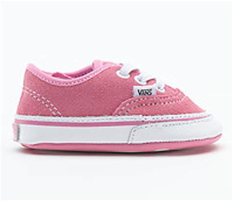 white infant shoes vans authentic infant slip on shoes pink true