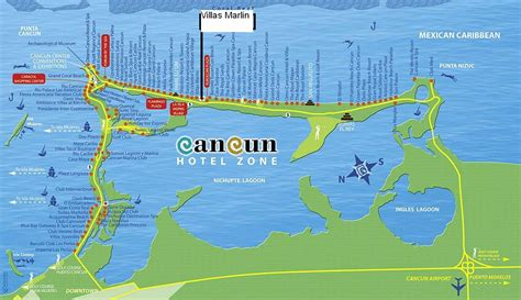 map cancun mexico hotel zone cancun cake ideas and designs