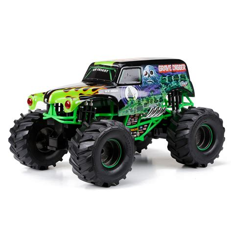 grave digger toy monster new bright full function monster jam grave digger remote