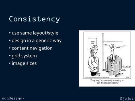 design consistency definition ppt jozef toth mogdesign eu powerpoint presentation id