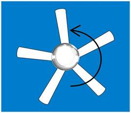 Rotation Of Ceiling Fan by Ceiling Fan Direction Summer And Winter
