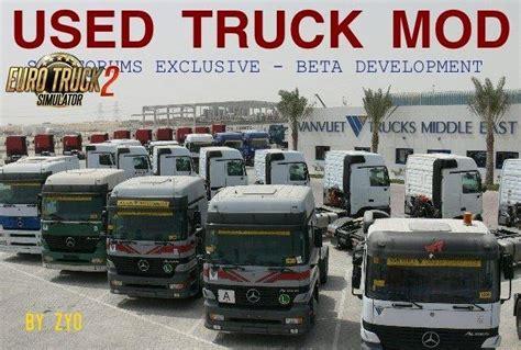 kumpulan mod game ets 2 used trucks mod beta 6 6b for ets2 ets2 mods euro