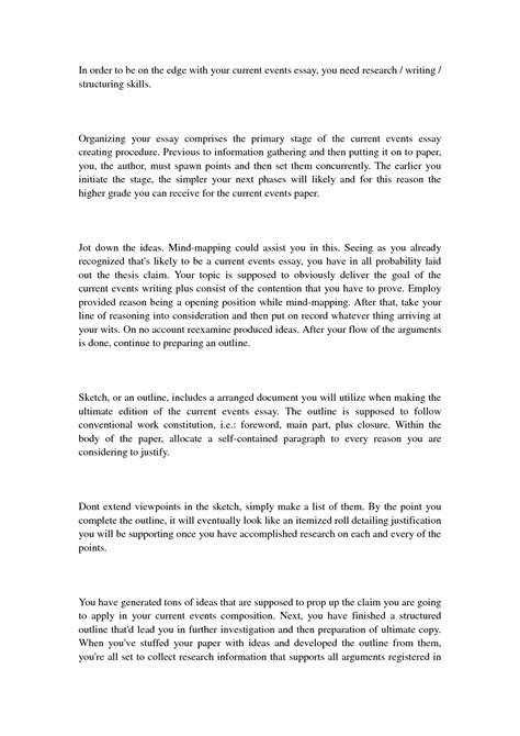 Current Event Exles For Sat Essay by College Essays College Application Essays Current Events Paper