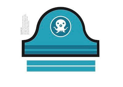 octonauts templates items similar to one octonauts printable sailor hat