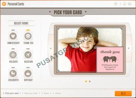 membuat kartu ucapan elektronik personal card software untuk membuat kartu ucapan