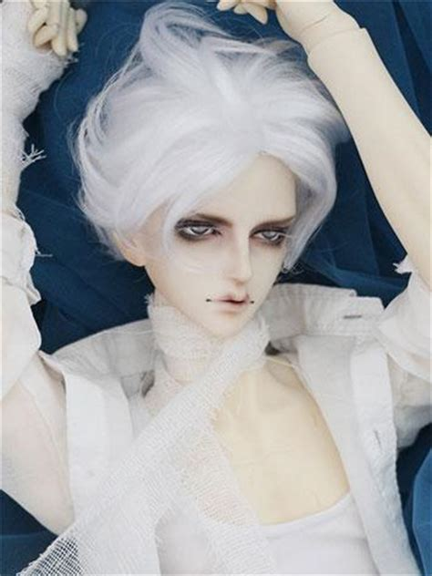 jointed doll white hair jointed dolls bjd company bjd accessories doll