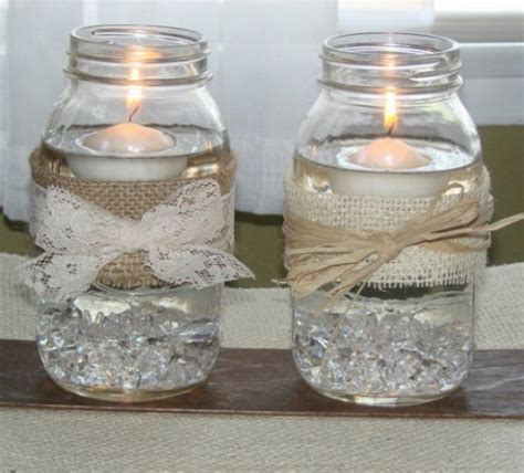 reuse glass jars room decorating ideas home decorating