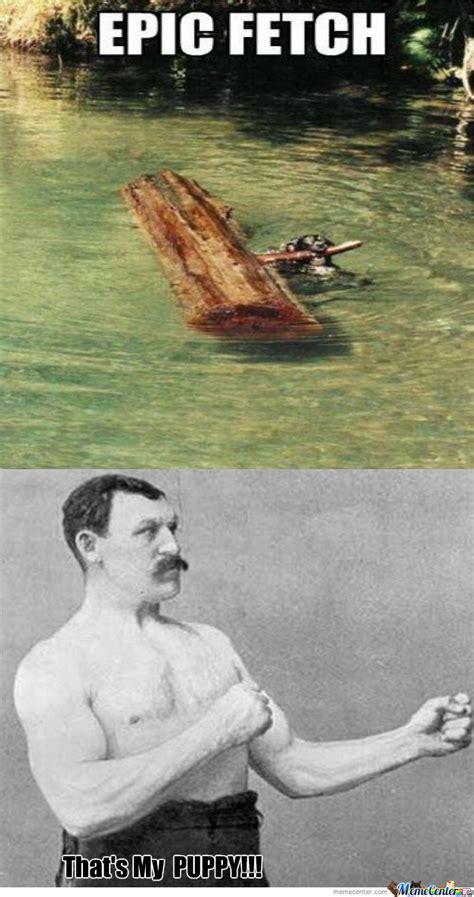 Manly Man Memes - overly manly man s puppy by nari007 meme center