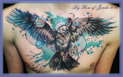watercolor tattoo raven tattoos on 119 pins
