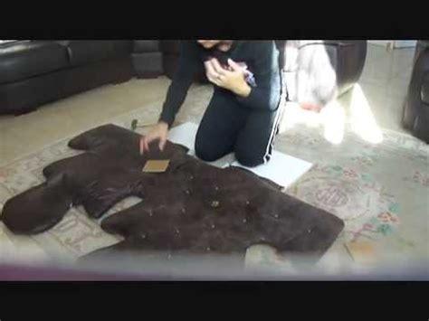 tutoriel : comment faire une tête de lit capitonnée