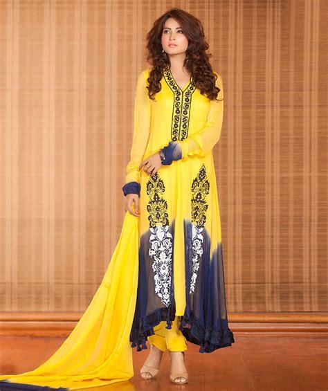 design dress code yellow blue mehndi dress exclusiveinn com