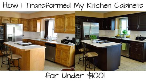 transform kitchen cabinets how i transformed my kitchen cabinets for under 100