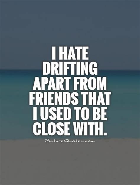 I Used To Be All - i hate drifting apart from friends that i used to be close