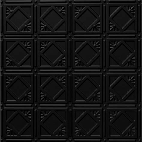 ceiling tiles black global specialty products dimensions 2 ft x 2 ft matte