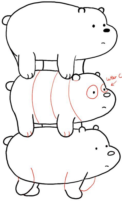 ice bear coloring page ice bear we bare bears coloring pages coloring pages