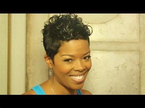 short hair styles worn by malinda williams mane taming with malinda williams episode 10 hair or no