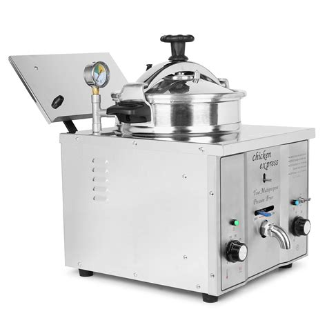 16l pressure fryer ce certified robust machine easy to