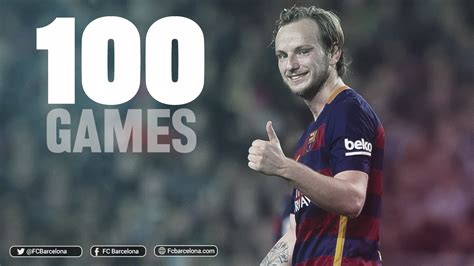 Figure Bola Barcelona Ivan Rakitic Original ivan rakitic makes fc barcelona century fc barcelona