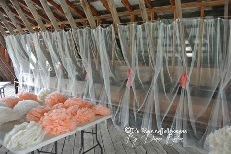 how to drape fabric on walls it s raining jellybeans wedding tulle wall tutorial