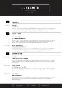 modern word resume templates trendy resumes creative resume templates