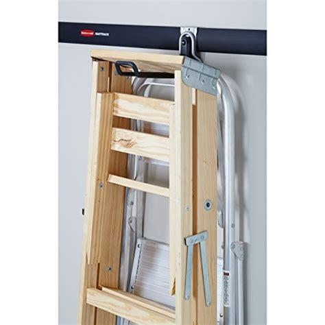 Ladder Storage In Garage by Rubbermaid Fasttrack Garage Storage System Ladder Hook