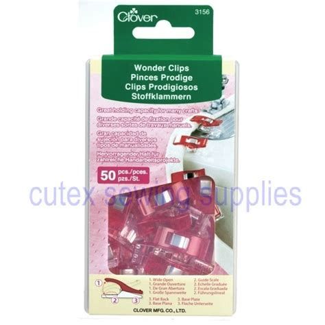 Clover Quilting Supplies by Clover 50 Pack For Sewing Crafts Quilting