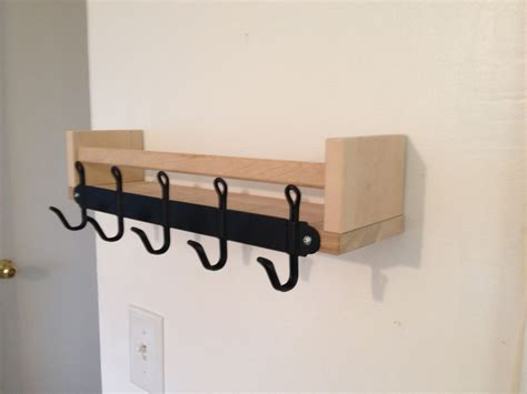 Shelf With Key Hooks by Bekvam Svartsj 214 N Key Hook And Sunglass Shelf