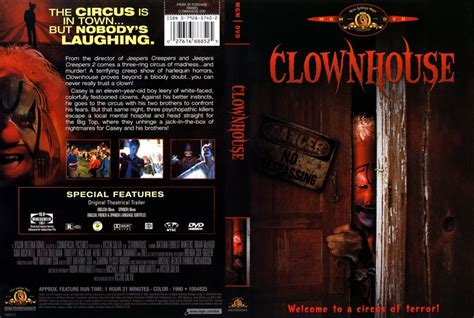 clown house clownhouse movie dvd scanned covers clownhouse dvd covers