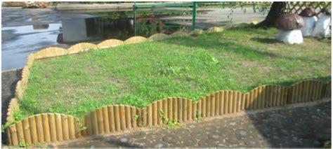 bordura giardino legno bordura steccato viro per aiuole giardino in legno di
