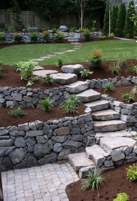 Rock Garden Steps 43 Awesome Garden Paths Digsdigs