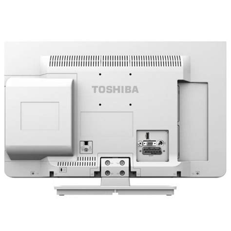 Tv Toshiba 22 Inch buy toshiba 22d1334b 22 inch hd 1080p led tv dvd combi with freeview white from our led