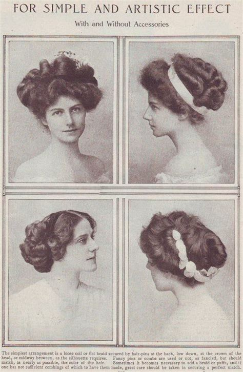 hair styles in 1900 edwardian hairstyles early 1900 s hair inspiration