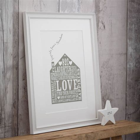 house prints personalised our home print by allihopa