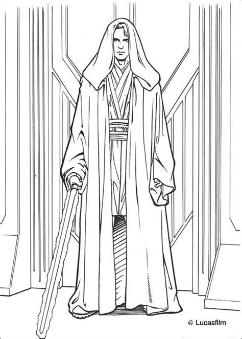 coloring pages star wars jedi anakin skywalker coloring pages hellokids com