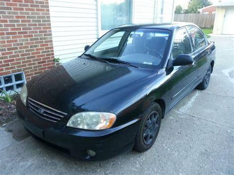 kia 4 cylinder cars find used 2002 kia spectra 4 door 4 cylinder in warren