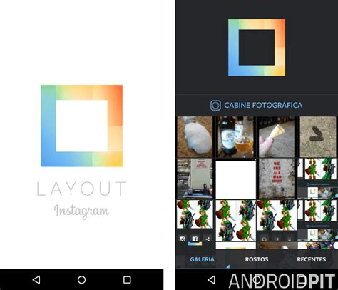 layout instagram for android instagram lan 231 a layout um app para colagens androidpit