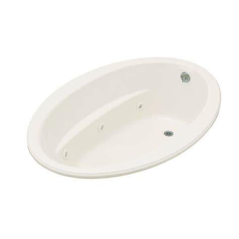 kohler bathtub price kohler sunward acrylic oval drop in whirlpool white