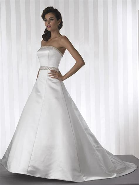 strapless designer wedding dresswedwebtalks wedwebtalks