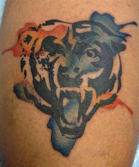 chicago tattoo logo 25 best ideas about chicago bears tattoo on pinterest