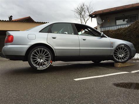 Audi A4 B5 Gewindefahrwerk audi a4 b5 1 8t quattro quot winterauto quot tracktools