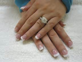 Cnd 181 white tips nails nails tomuch us